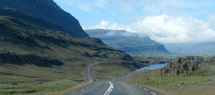 #Fahrt durch die Ostfjorde