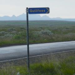 #Gulfoss Schild