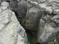 Kontinentalspalte bei der Höhle Grjótagjá.