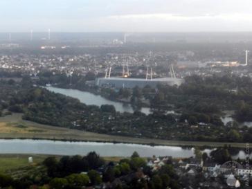 Weserstadion Luftbild Flughafen Bremen