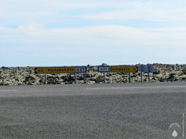 Reykjanesskagi Grindavik Lavafeld Island