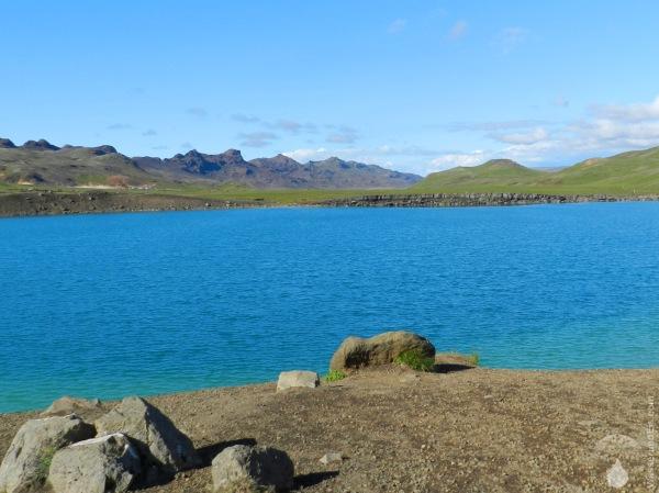 Krýsuvík Island See Graenavatn