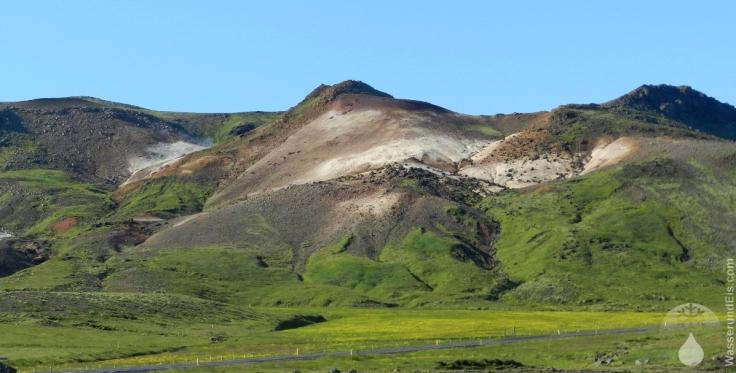 Seltun Island heiße Quelle