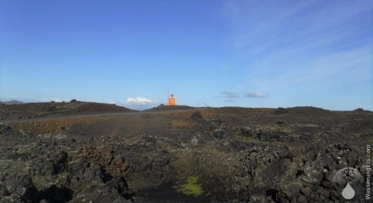 Hopsness Grindavik Reykjanes Leuchtturm