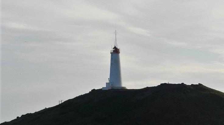 Reykjanesviti Leuchtturm Island