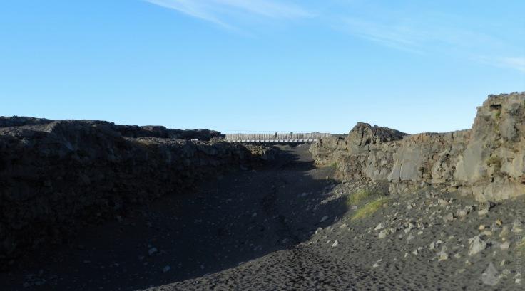 Brücke zwischen den Kontinenten Island