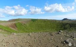 Trockenmaar Krater Maar Island