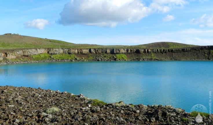 Grænavatn Maar Krater See