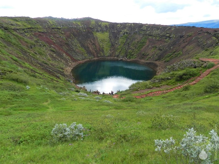 #Kratersee Caldera Kerið