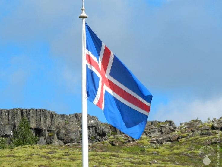 #Pingvellir Island Flagge
