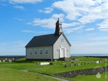 Strandarkirkja Selvogur Reykjanes Island