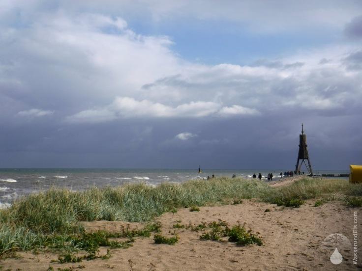 Nordsee Elbe Elbmündung Kugelbake Cuxhaven Döse