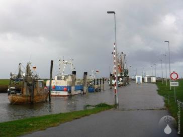 Kutterhafen Spieka-Neufeld Sturmflut