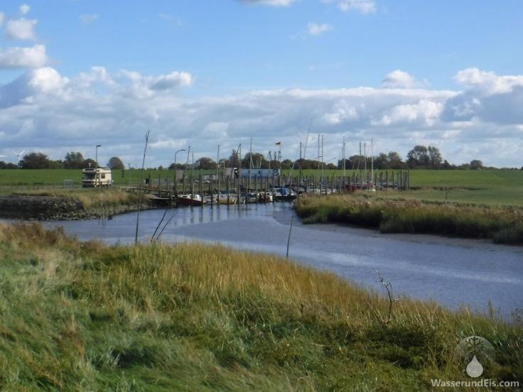 Hafen Fischerhafen Spieka-Neufeld Wurster Nordseeküste