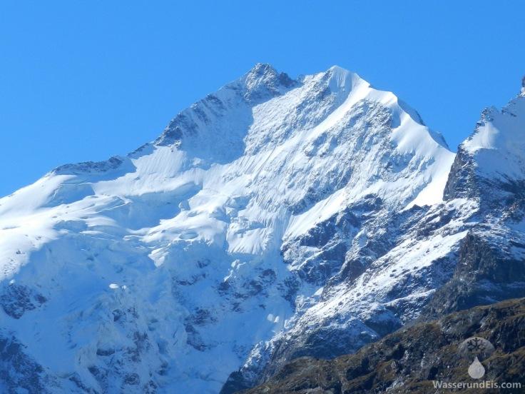 Piz Bernina Berninagruppe Biancograt