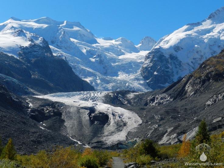 Gletscherzunge Morteratschgletscher