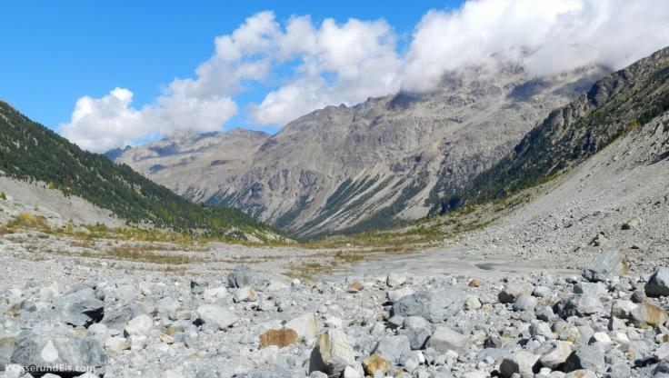 Morteratschtal Schweiz Alpen