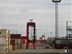Containerhafen Bremerhaven Seehafen