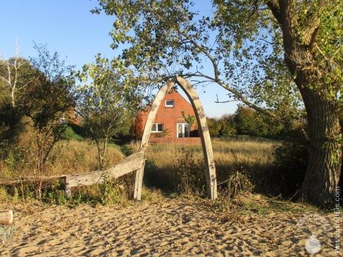 Wochenendhaus am Strand vom Harriersand.