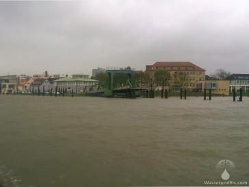 Fähranleger der Weserfähre in Bremerhaven