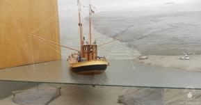 #Fischerei Diorama Museum Wattenfischerei