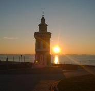 Leuchtturm Bremerhaven.