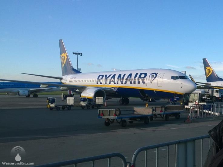 Ryanairmaschinen am Airport Bremen