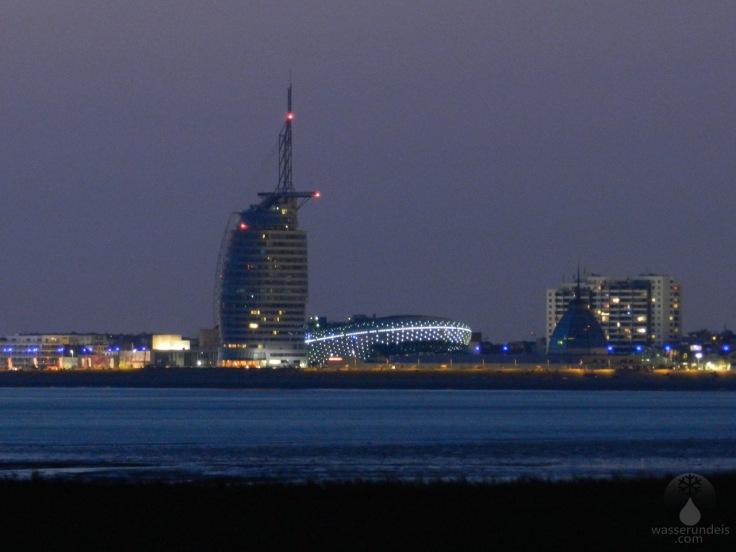 #Skyline von Bremerhaven