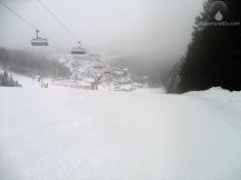 Ich bin zwar nur noch selten im Skiliftkarussell. Der Reiz fehlt inzwischen - dennoch, wenn ich hier schon fahre bin ich meist der erste Gast auf der Kuppe des Poppenbergs denn das lohnt sich ungemein.