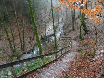 Schluchtensteig Winterberg Alpin Klamm