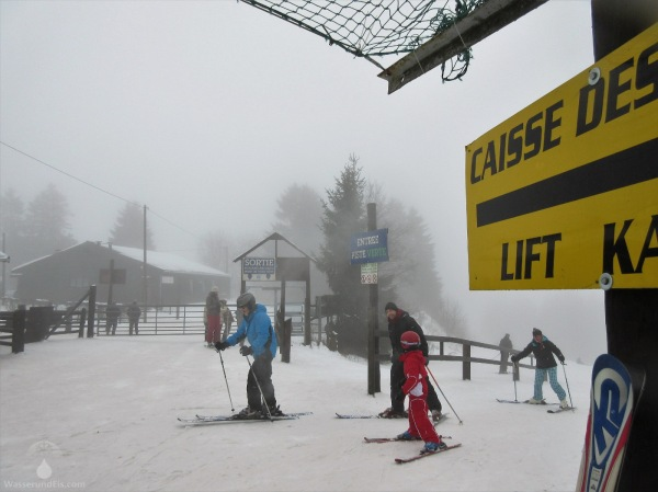 Skigebiet Ardennen Ovifat Belgien