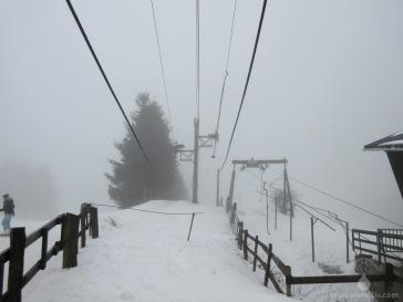 Bergstationsbereich.