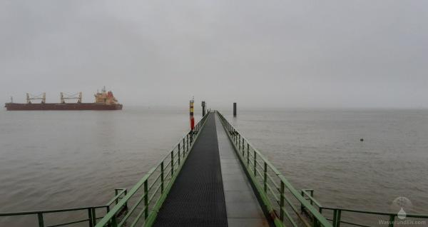 Wintertag an der Nordsee