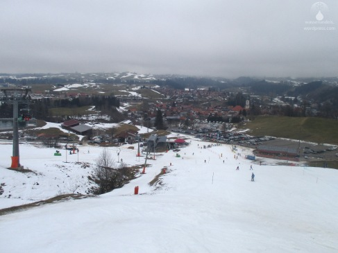 Nesselwang Alpspitzbahn Schnee