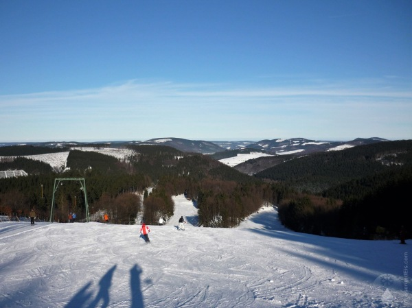 Aussicht Hunau Hunaulifte skifahren