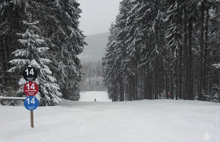 Naturschnee Skigebiet Kappe