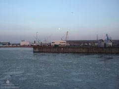 Fischereihafen Bremerhaven Eis