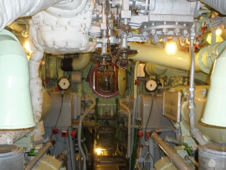 Maschinenraum U-Boot Bremerhaven