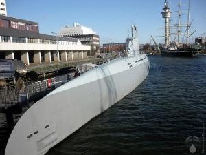 U-Boot Submarine Bremerhaven