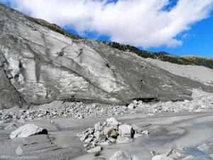 Gletscherzunge Morteratschgletscher Schweiz