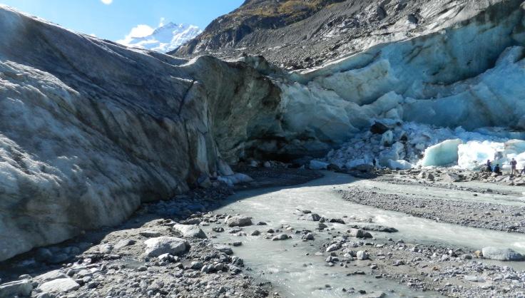 Gletschertor Gletscherzunge Morteratsch