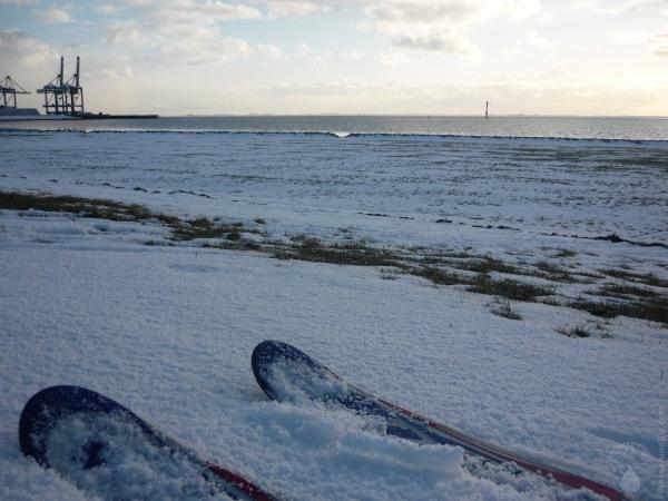 Nordseeküste Bremerhaven Skifahren