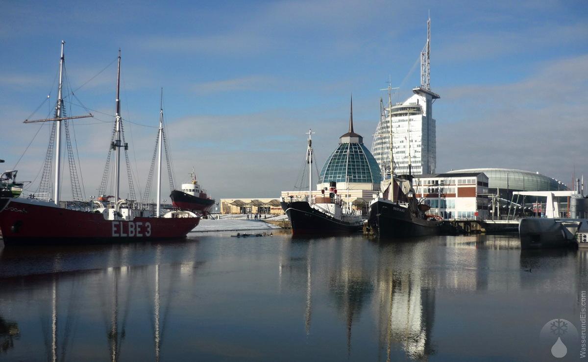 #Alter Hafen Winter