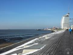 Bremerhaven Deich Sail-City Havenwelten