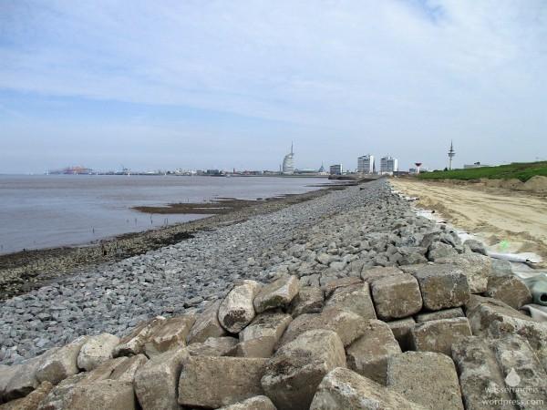 Deichbau Bremerhaven Küstenschutz