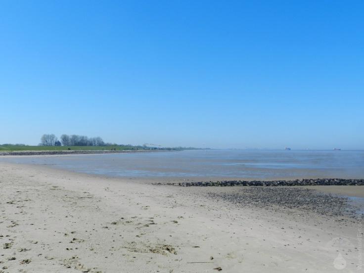 Sandstrand Strand Nordseestrand Otterndorf