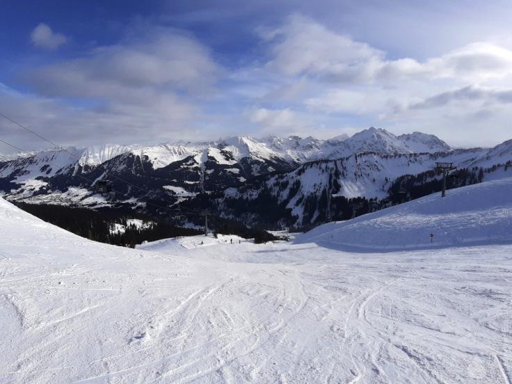 Ifen-Abfahrt Skigebiet Ifen
