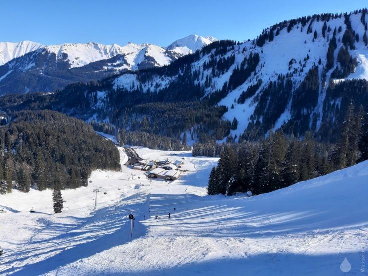 Olympiaabfahrt Ifen Auenhütte