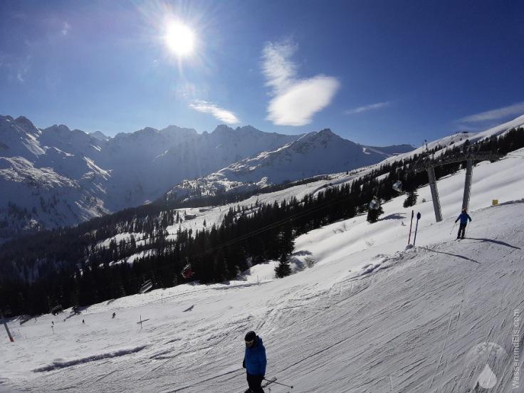 Kanzelwand Fellhorn Seeckbahn Skigebiet