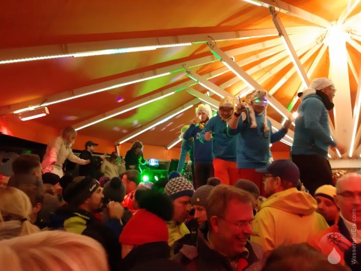 Plattform Schneeparty Après Ski Kleinwalsertal